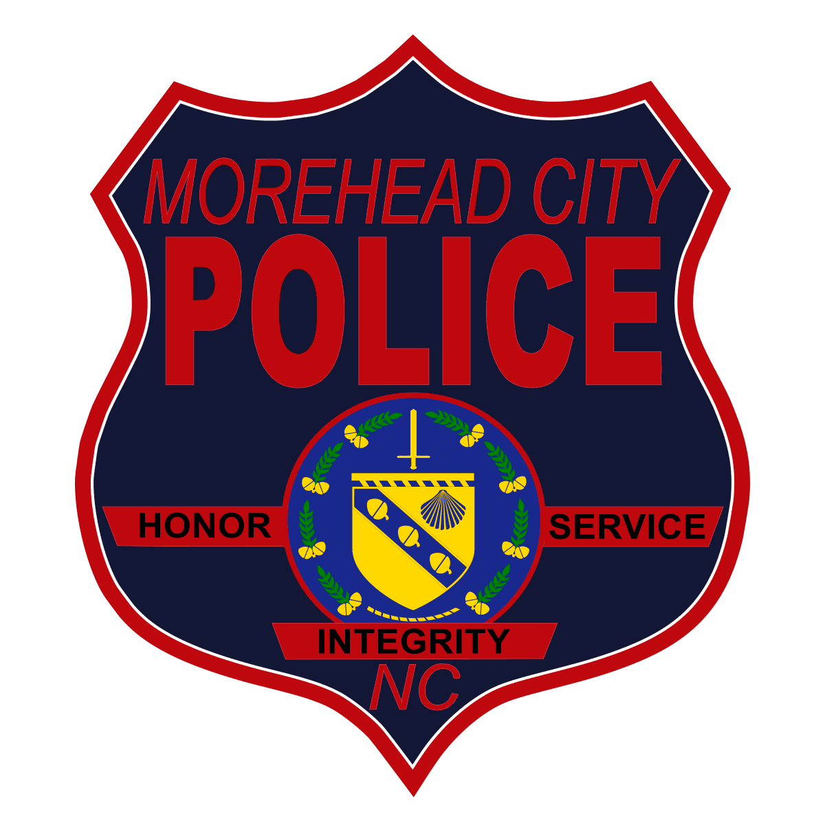 Morehead City Police Department Patch