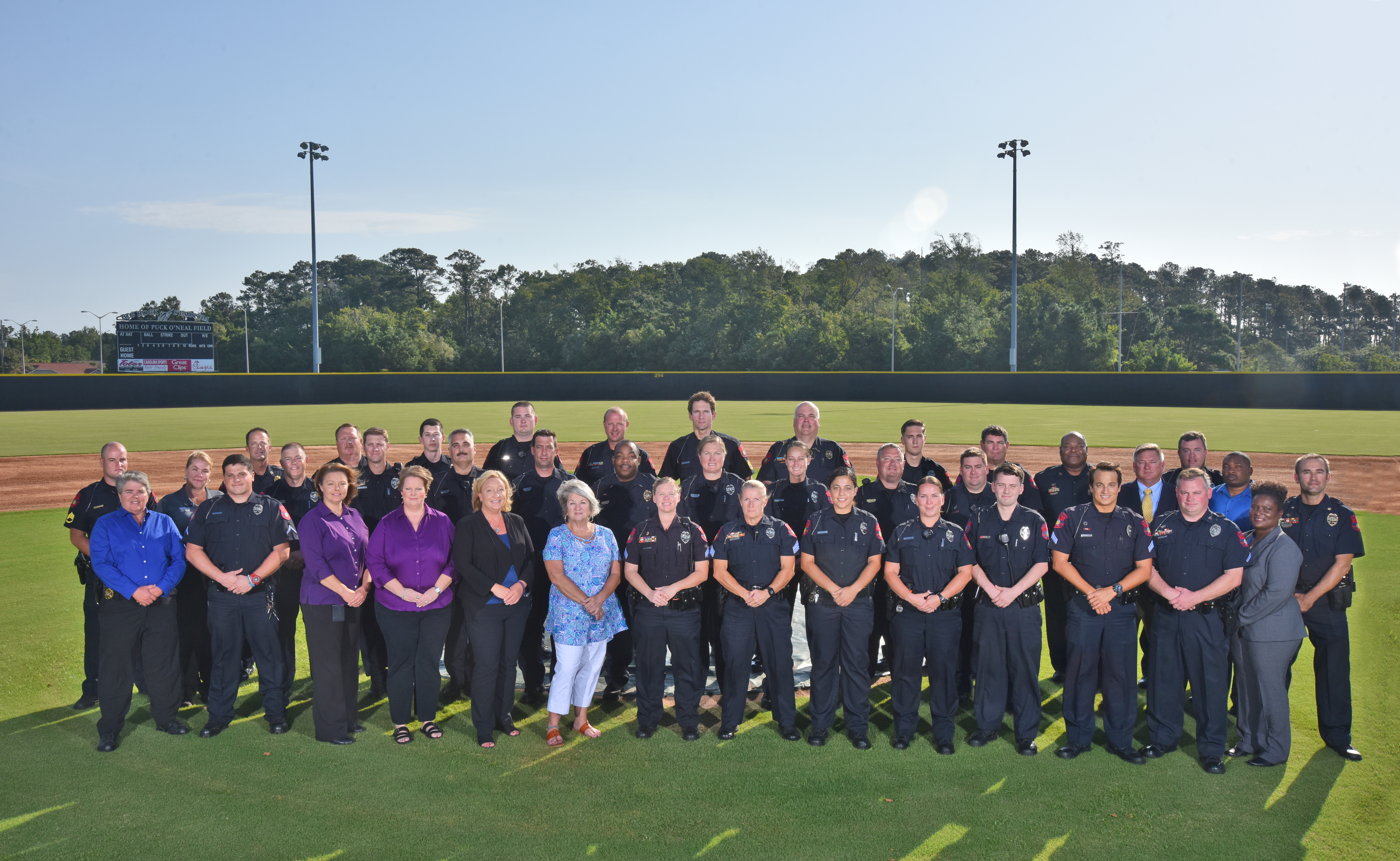 Morehead City Police Group Photo